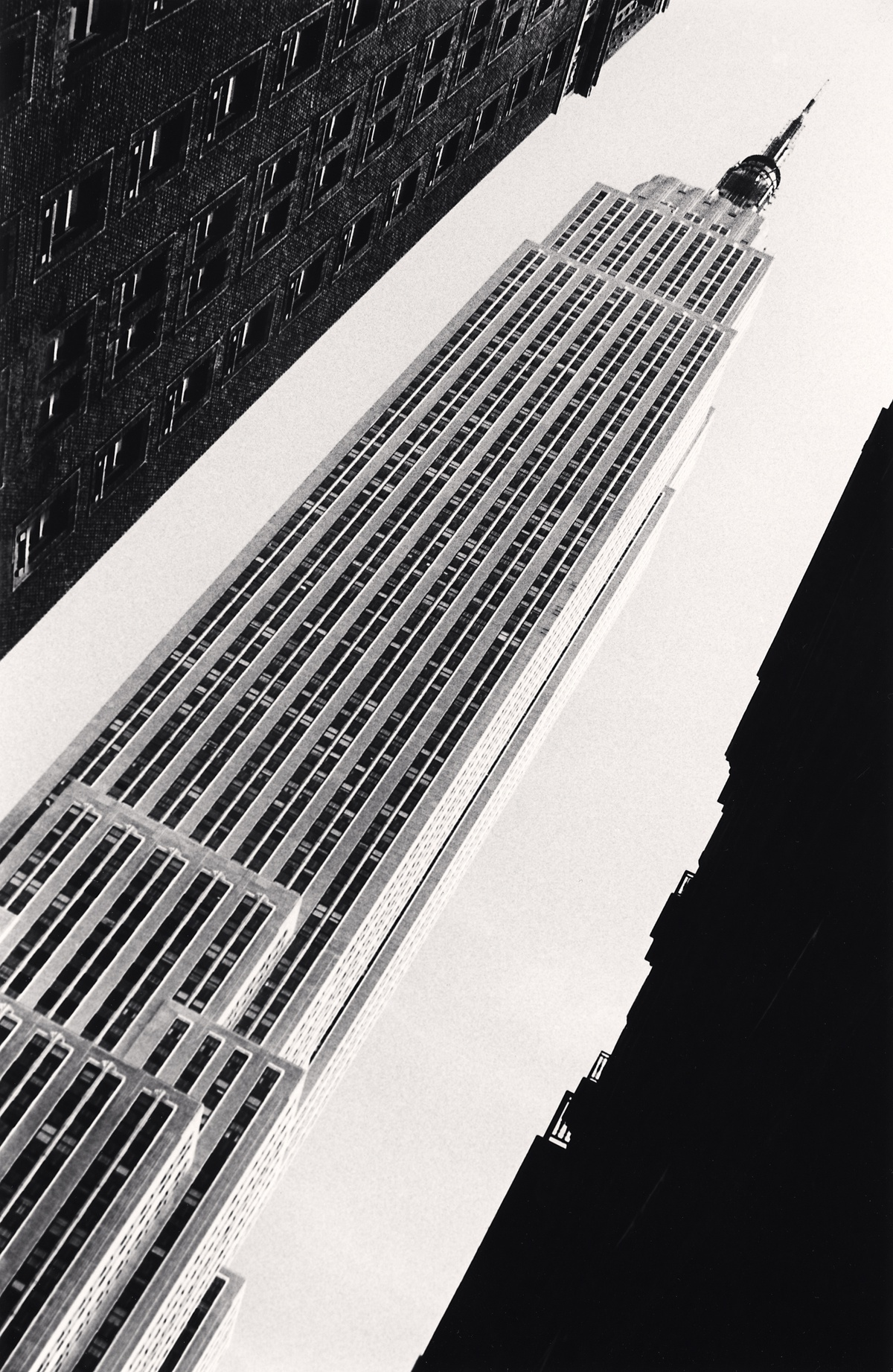 Michael Kenna Empire State Building, Study 1, New York, New York, USA 1978 Sepia Toned Silver Gelatin Print From An Edition Of 45 8 x 10 Inches