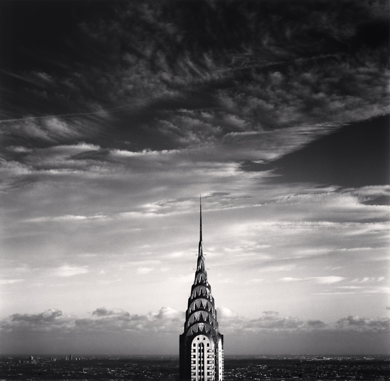 Michael Kenna  Chrysler Building, Study 3, New York, New York, USA 2006