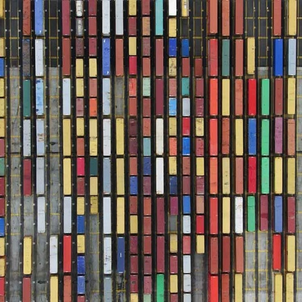 Coloured Containers, Sydney
