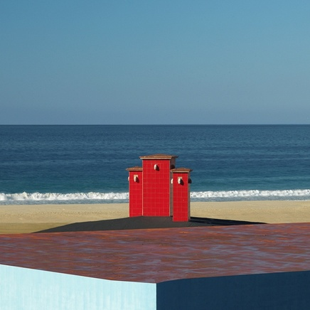 Charlie Waite, Red Chimney, Andalucia